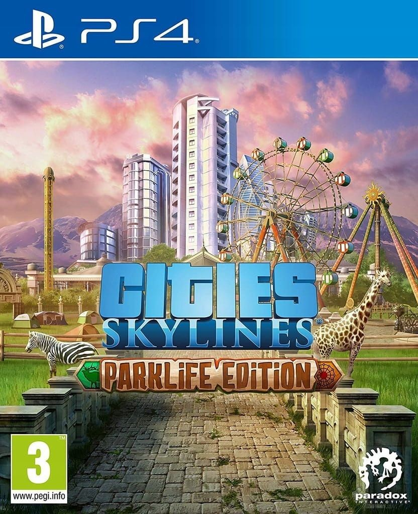 Cities Skylines - Parklife Edition Русская Версия (PS4)