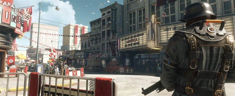 Wolfenstein 2 (II): The New Colossus Русская Версия (PS4)