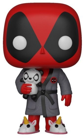 Фигурка Funko POP! Bobble: Дэдпул в халате (Deadpool in Robe) Игры Дэдпул (Deadpool Playtime) (31118) 9,5 см