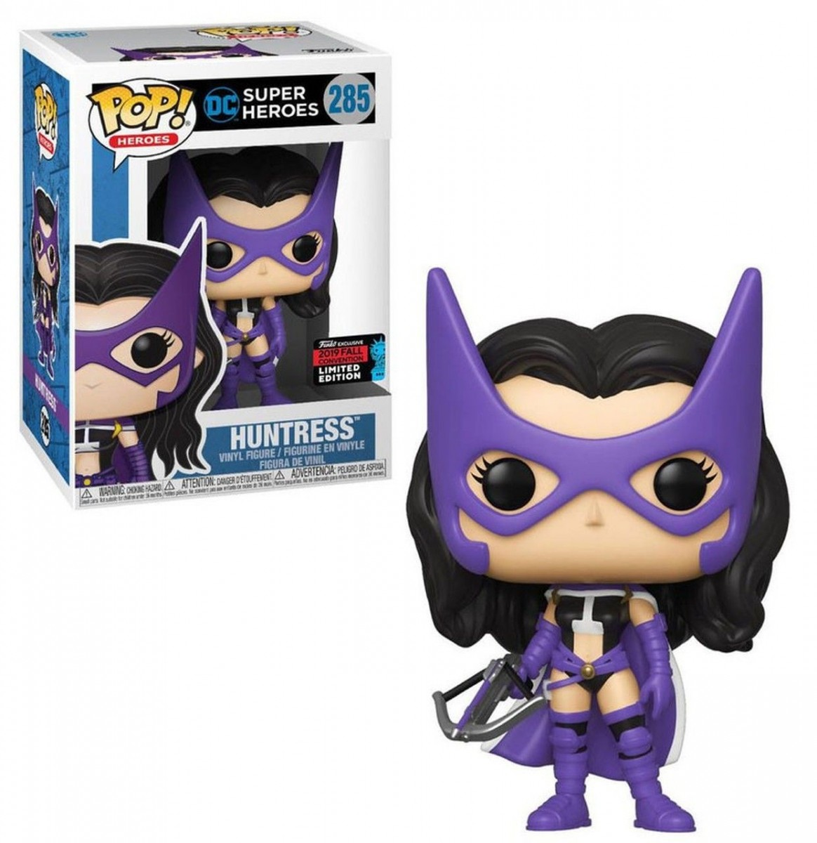 Фигурка Funko POP! Vinyl: Охотница (Huntress (NYCC 2019 Limited Edition Exclusive)) ДиСи (DC) (43377) 9,5 см