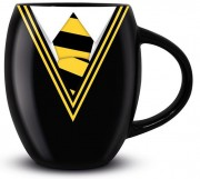 Кружка Pyramid: Гарри Поттер (Harry Potter) Униформа Пуффендуй (Hufflepuff Uniform) Oval Mug (MGO25714) 425 мл