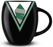 Кружка Pyramid: Гарри Поттер (Harry Potter) Униформа Слизерин (Slytherin Uniform) Oval Mug (MGO25716) 425 мл