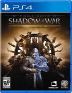 Средиземье (Middle-earth): Тени войны (Shadow of War) Gold Edition (PS4)