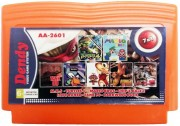 Картридж Сборник игр 7 в 1 AA-2601 М.К.5(30 р.) + TURTLES 4 + MARIO BROS + CHIP & DALE 2 + TANK 90 + DARKWIN DUCK + LODE RUNER (8 bit) для Денди