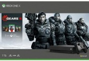 Microsoft Xbox One X 1Tb Rus Черная + Gears of War: Ultimate Edition + Gears 2, 3, 4 (Gears of War 2, 3, 4) + Gears 5 (Gears of War)