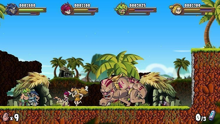 Caveman Warriors Deluxe Edition (Switch)
