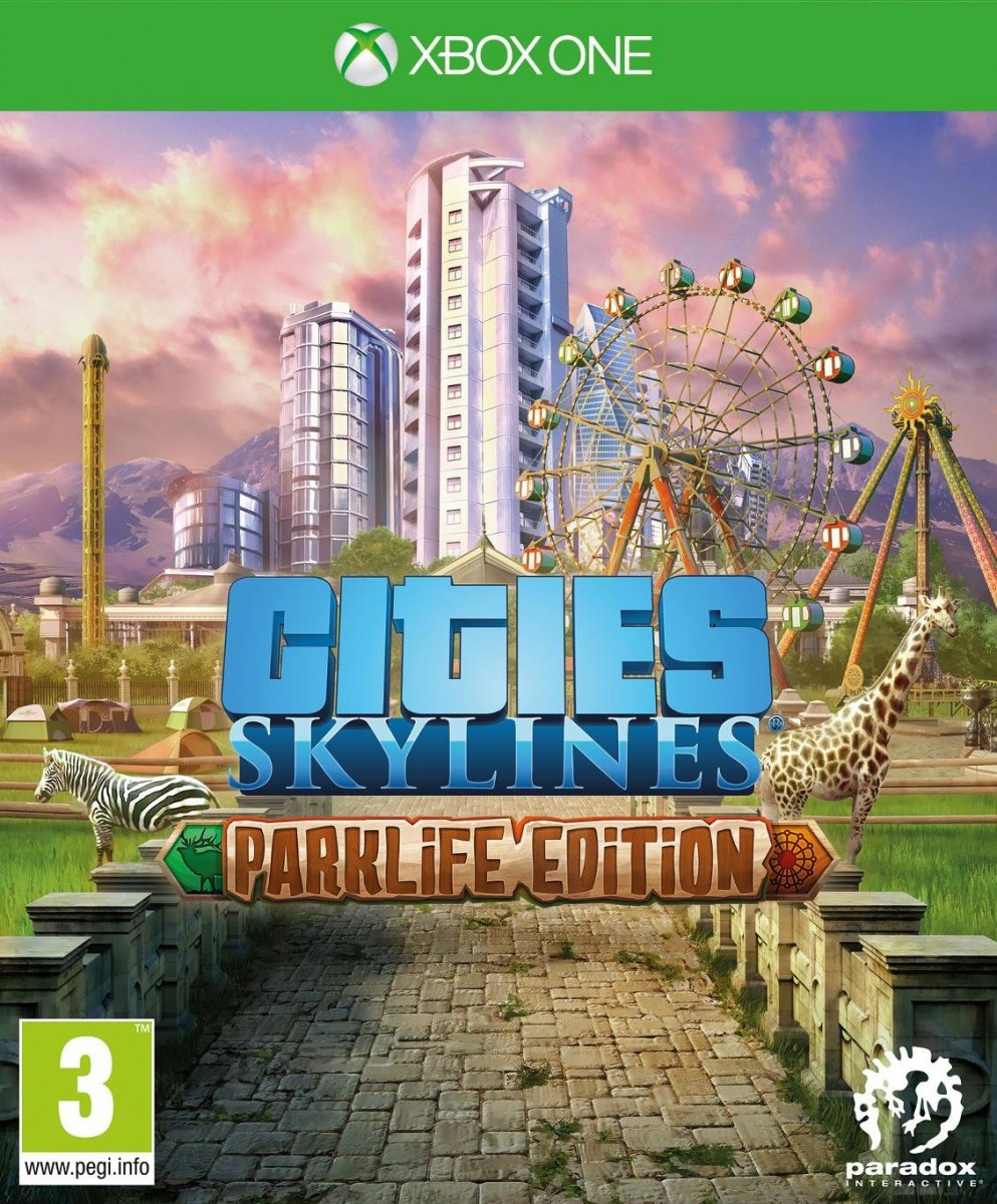 Cities Skylines - Parklife Edition Русская Версия (Xbox One)