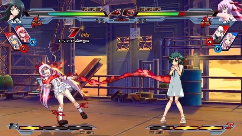 Nitroplus Blasters: Heroines Infinite Duel (PS4)