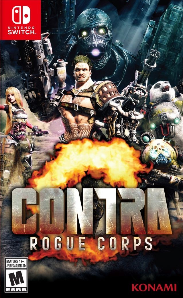 Contra: Rogue Corps Русская Версия (Switch)