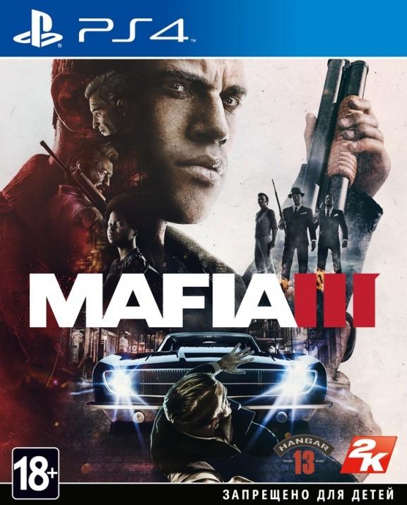 Mafia 3 (III) Русская версия (PS4)