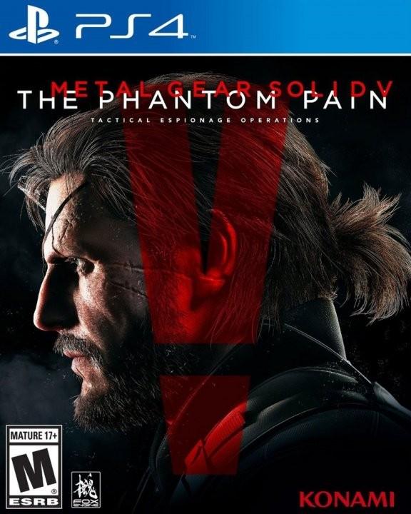 Metal Gear Solid 5 (V): The Phantom Pain (Фантомная боль) Русская Версия (PS4)