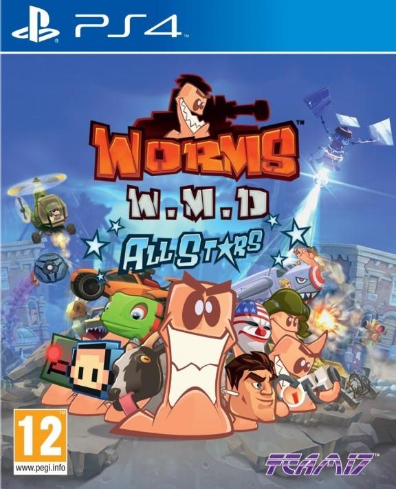 Worms (Червячки) W.M.D. All Stars Русская Версия (PS4)