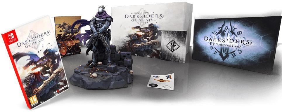 Darksiders: Genesis Nephilim Edition (Cпециальное издание с настольной игрой) Русская версия (Switch)