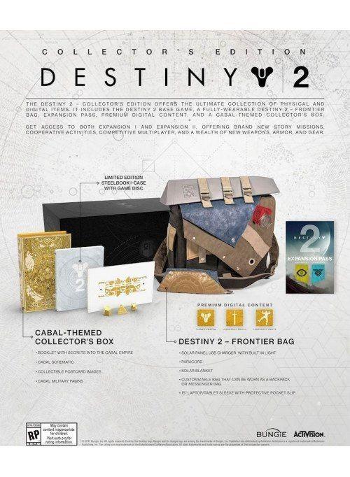 Destiny: 2 Collector's Edition Русская версия (Xbox One)