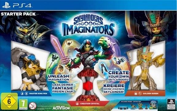 Skylanders Imaginators: Стартовый набор: игра, игровой портал, фигурки: King Pen, Golden Queen (PS4)