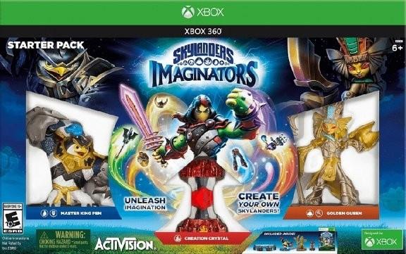 Skylanders Imaginators: Стартовый набор: игра, игровой портал, фигурки: King Pen, Golden Queen (Xbox 360)