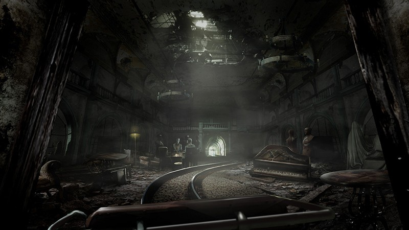 Until Dawn: Rush Of Blood (Только для PS VR) Русская Версия (PS4)