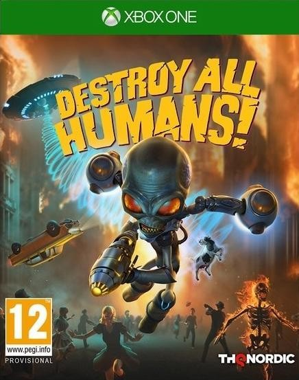 Destroy All Humans! DNA Collector's Edition Русская Версия (Xbox One)