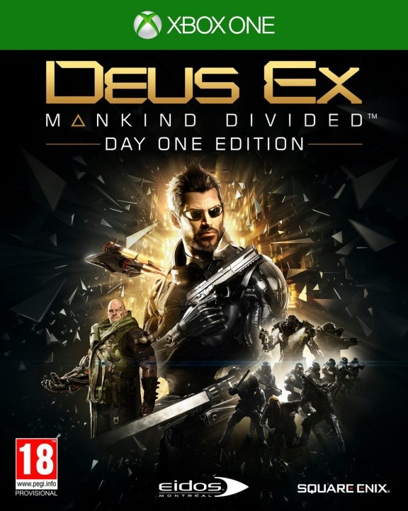 Deus Ex: Mankind Divided Day One Edition (Издание первого дня) Русская Версия (Xbox One)