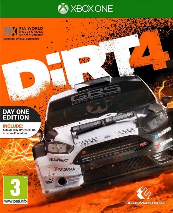 DiRT 4 Day One Edition (Издание первого дня) (Xbox One)