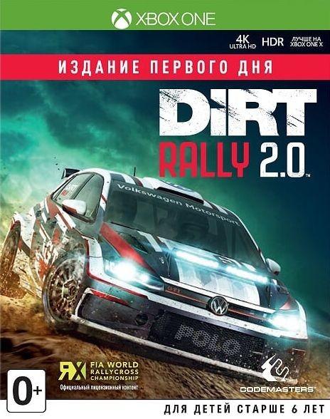 Dirt Rally 2.0 Day One Edition (Издание первого дня) (Xbox One)