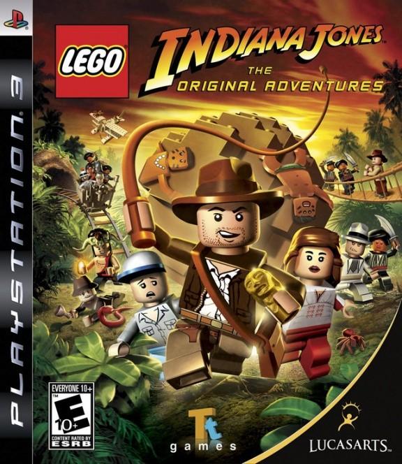 LEGO Indiana Jones Русская Версия (PS3)