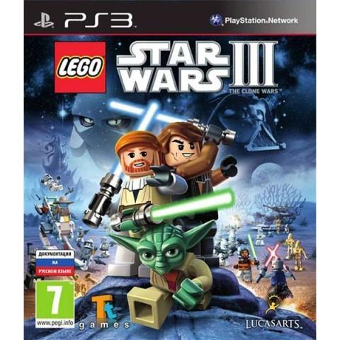 LEGO Звездные войны (Star Wars) 3 (III): The Clone Wars Русская Версия (PS3)