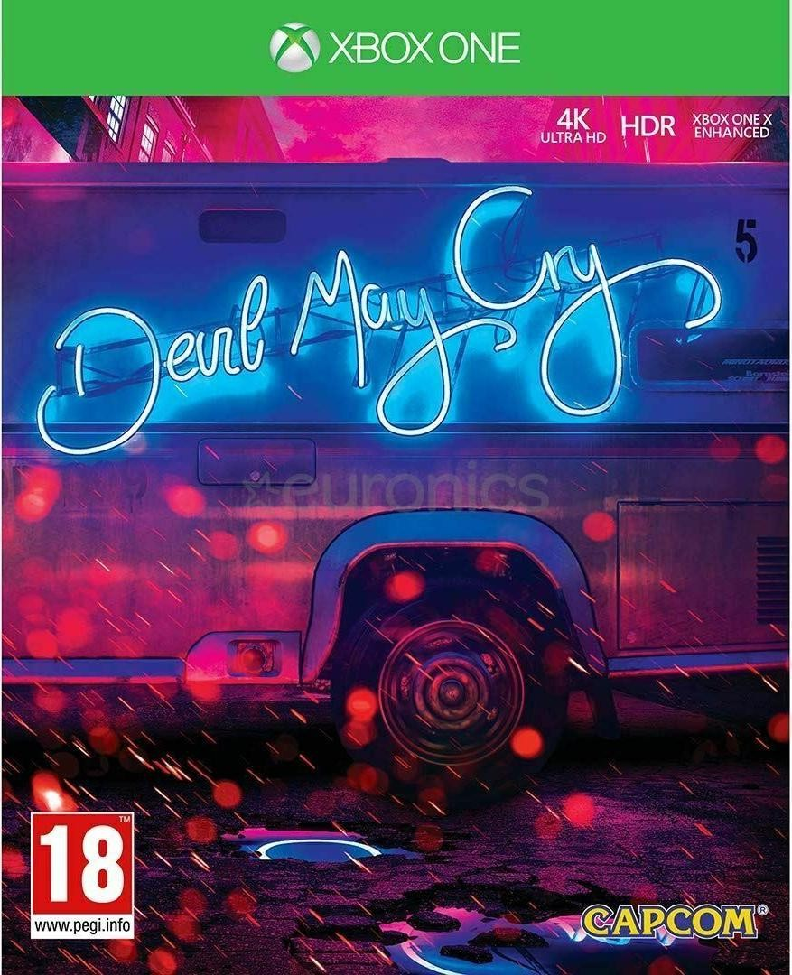 DmC Devil May Cry: 5 (V) - Deluxe Steelbook Edition Русская Версия (Xbox One)