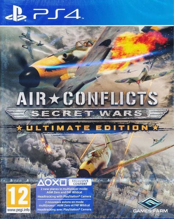 Air Conflicts: Secret Wars: Асы двух войн Ultimate Edition (PS4)