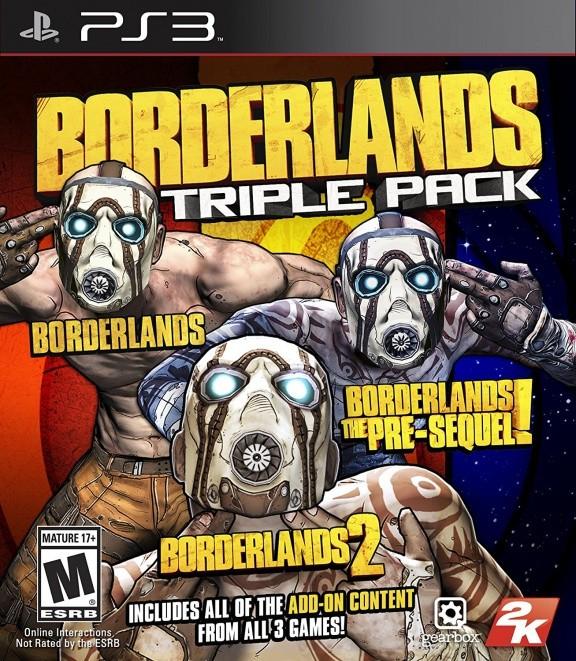 Borderlands Triple Pack (1 + 2 + The Pre Sequel) (PS3)