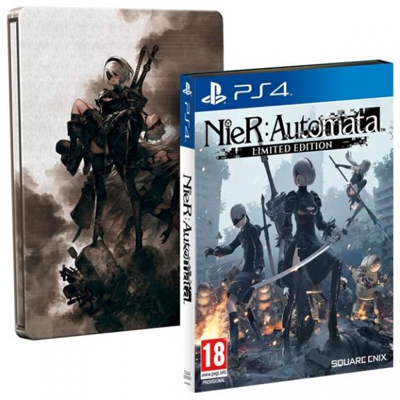 NieR: Automata. Limited Edition (Особое издание) (PS4)