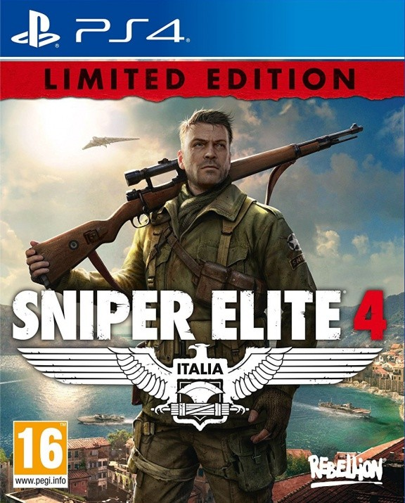 Sniper Elite 4 Limited Edition Русская Версия (PS4)