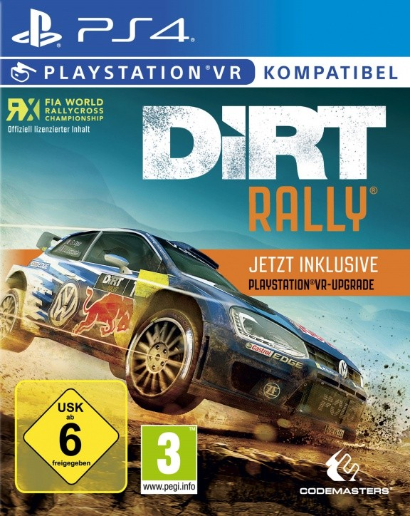 Dirt Rally (с поддержкой PS VR) Русская Версия (PS4)