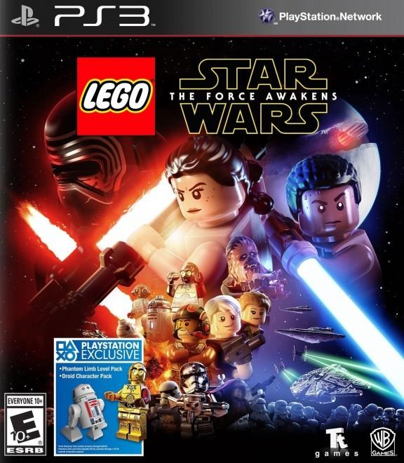 LEGO Звездные войны (Star Wars): Пробуждение Силы (The Force Awakens) (PS3)