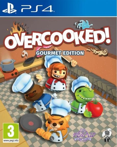 Overcooked: Gourmet Edition (Адская кухня) (PS4)