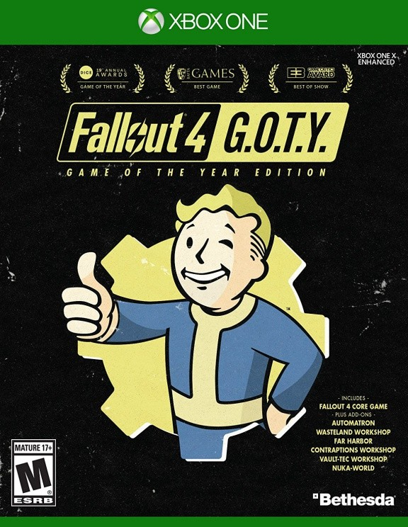 Fallout 4 Game of the Year Edition Русская Версия (Xbox One)