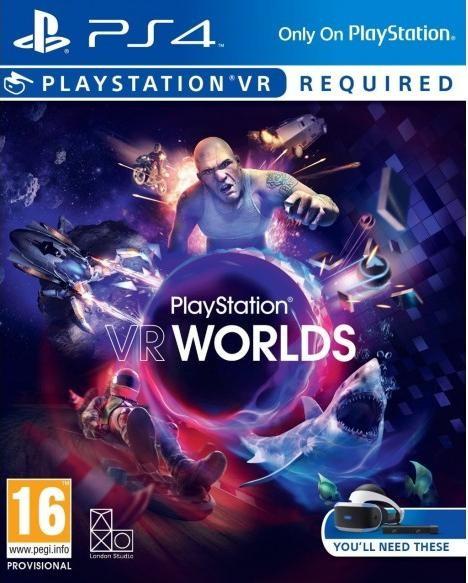 PlayStation VR Worlds (Только для PS VR) (PS4)