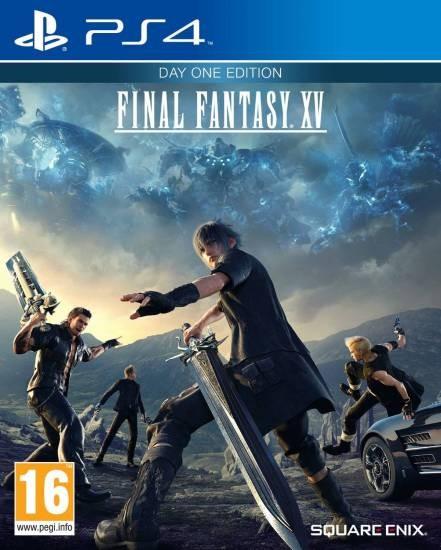 Final Fantasy 15 (XV) Day One Edition (Издание первого дня) (PS4)