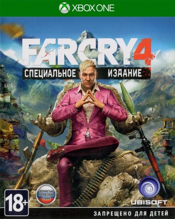 Far Cry 4 Специальное Издание (Special Edition) Русская Версия (Xbox One)