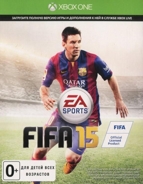 FIFA 15 Русская Версия (Код на загрузку) (Xbox One)