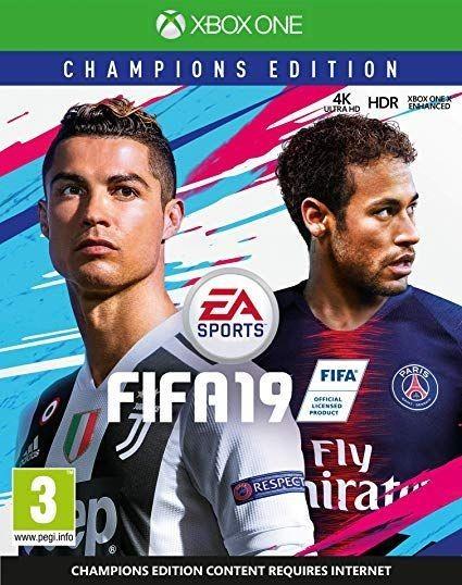 Fifa 19: Champions Edition Русская Версия (Xbox One)
