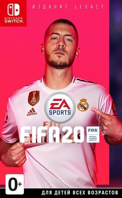 FIFA 20 Legacy Edition Русская версия (Switch)