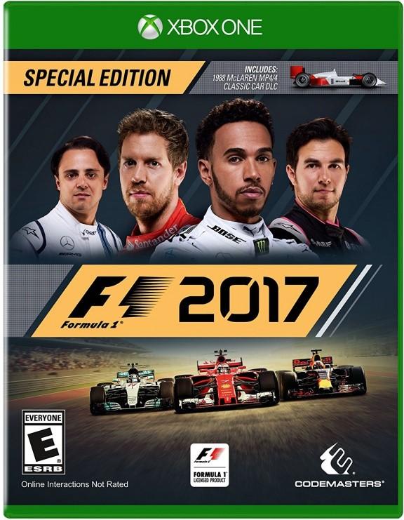 Formula One F1 2017 Русская версия (Xbox One)