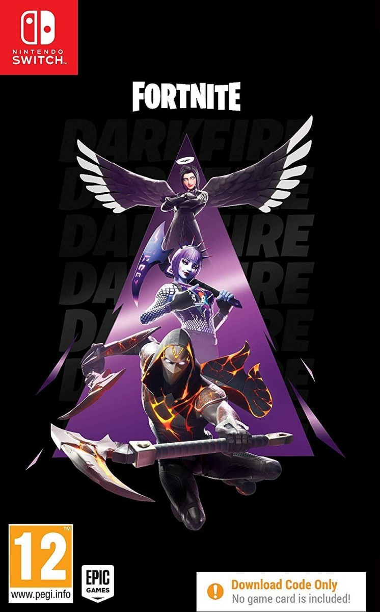 Fortnite: Darkfire Bundle (Код на загрузку) (Издание без игры) Русская Версия (Switch)