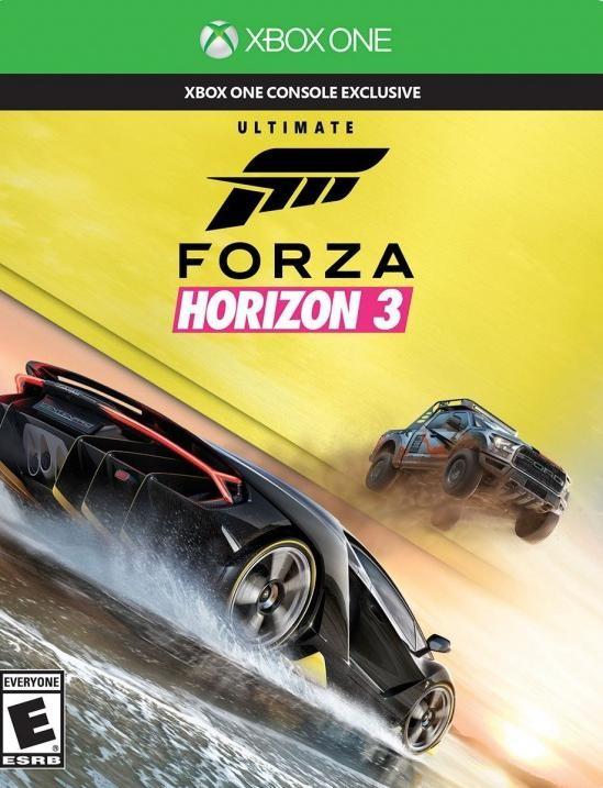 Forza Horizon 3 Ultimate Edition Русская версия (Xbox One)