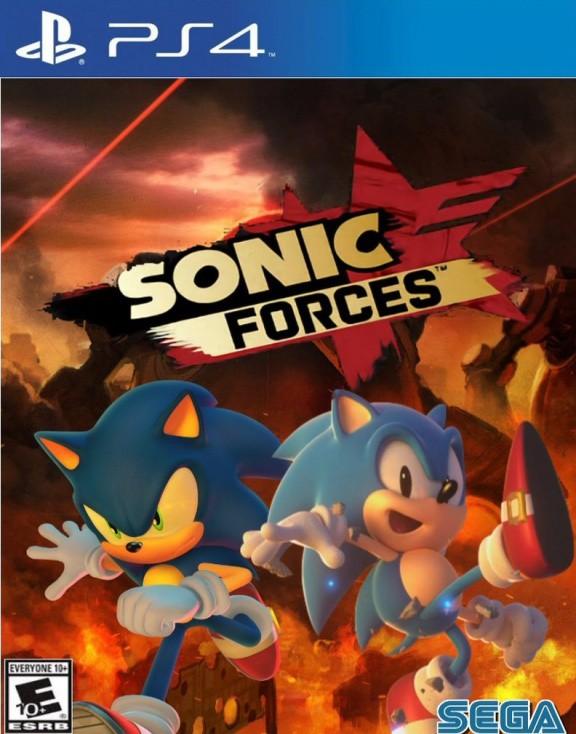 Sonic Forces Русская Версия (PS4)