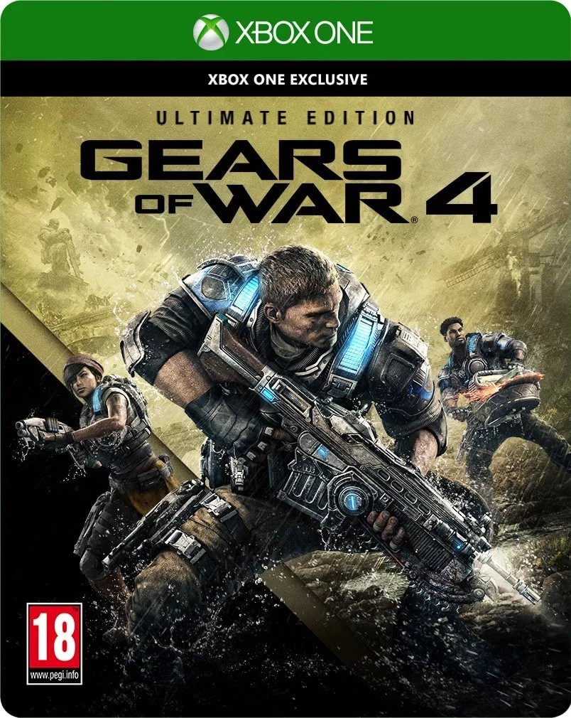 Gears of War 4 Ultimate Edition Русская Версия (Xbox One)