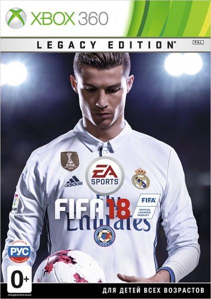 FIFA 18 Legacy Edition Русская Версия (Xbox 360)