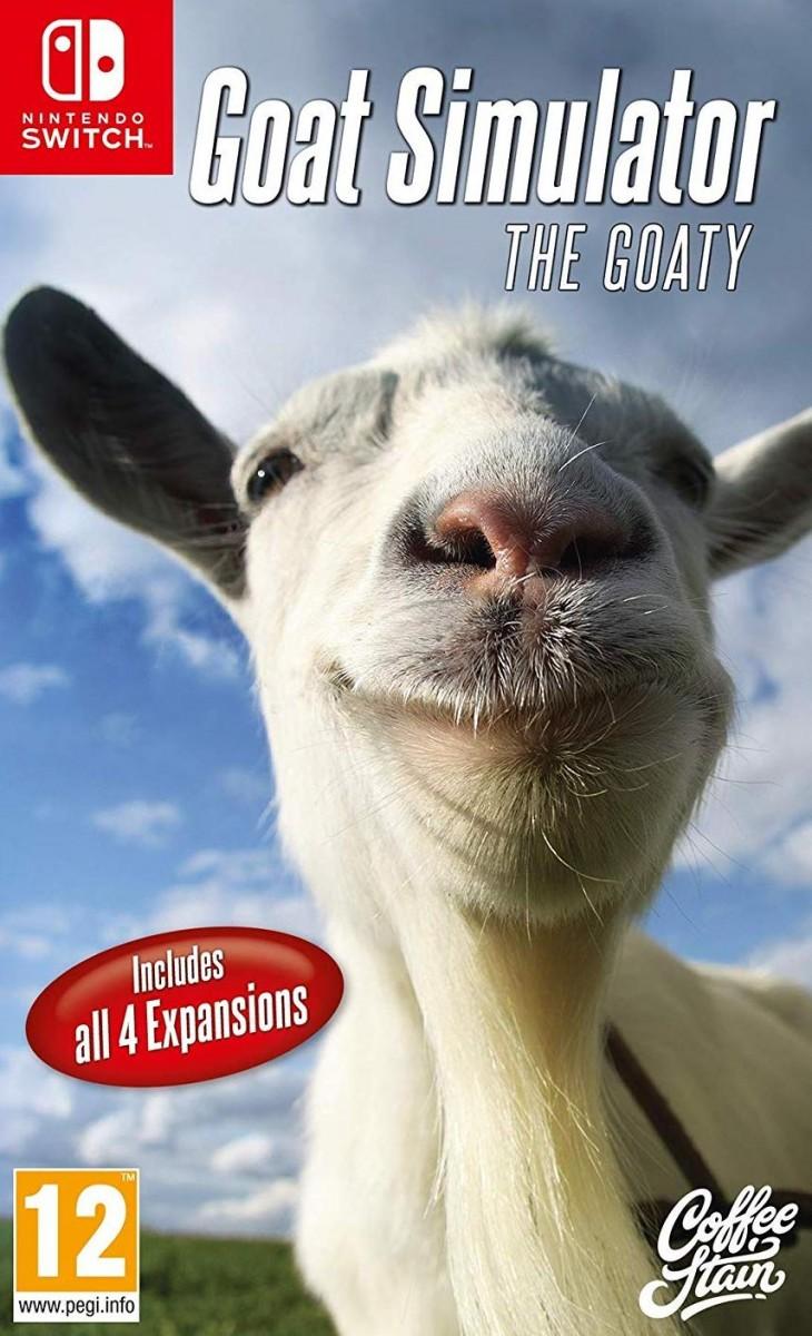 Goat Simulator: The Goaty Русская версия (Switch)