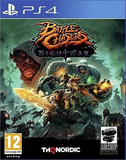 Battle Chasers: Nightwar Русская версия (PS4)